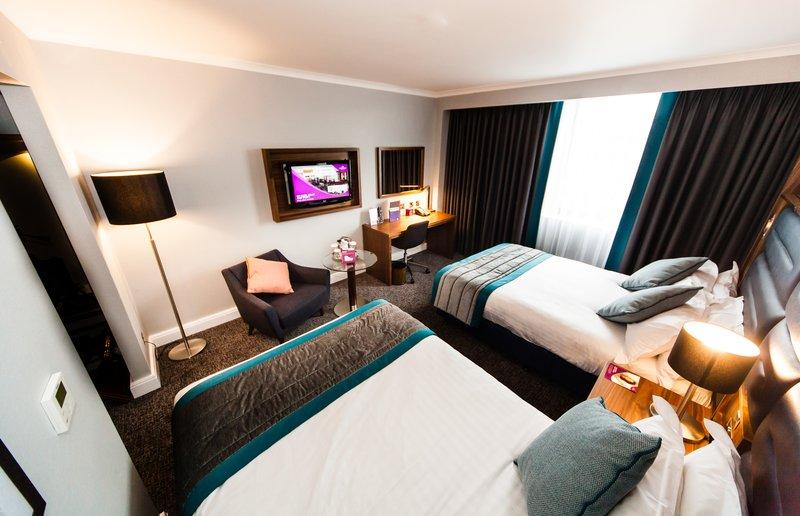 Crowne Plaza Leeds-Standard Twin Room<br/>Image from Leonardo
