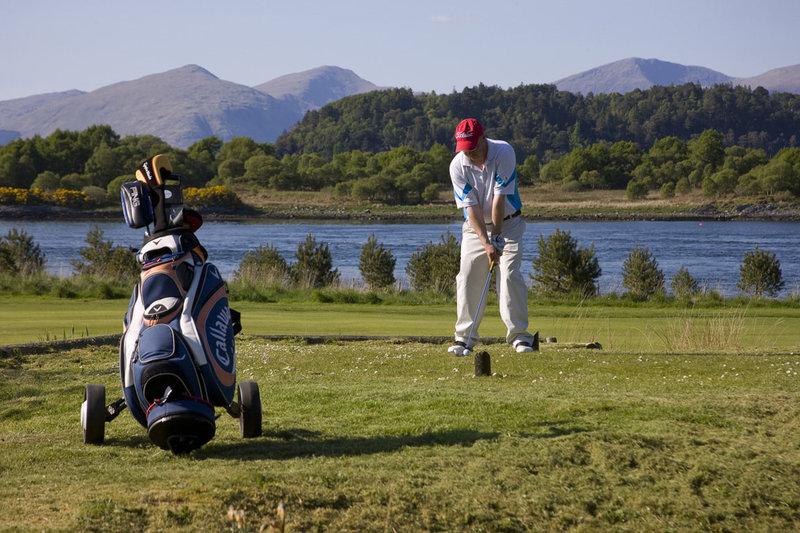 Isle Of Eriska Hotel-Golf<br/>Image from Leonardo
