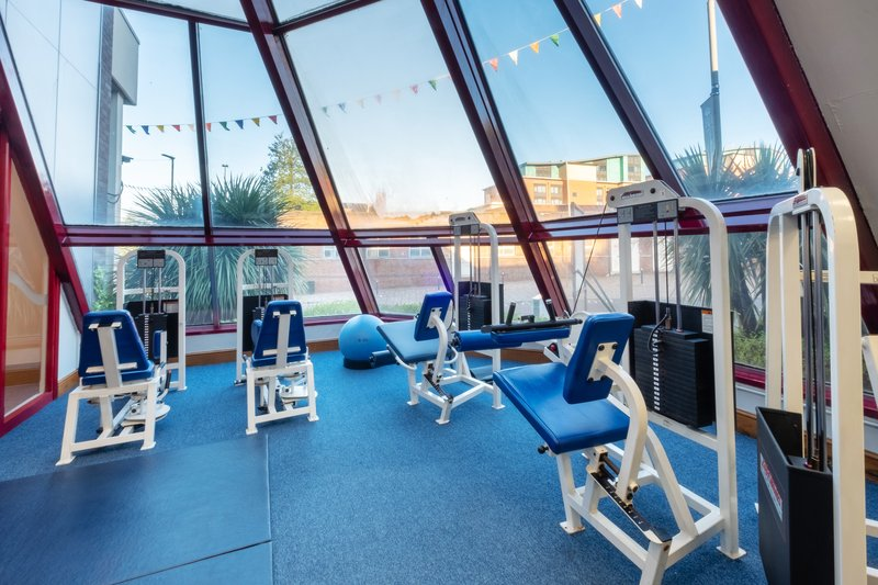 Holiday Inn Leicester-Fitness Center<br/>Image from Leonardo
