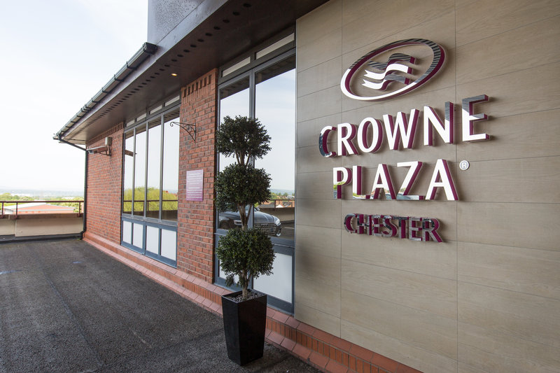 Crowne Plaza Chester-Hotel Exterior<br/>Image from Leonardo