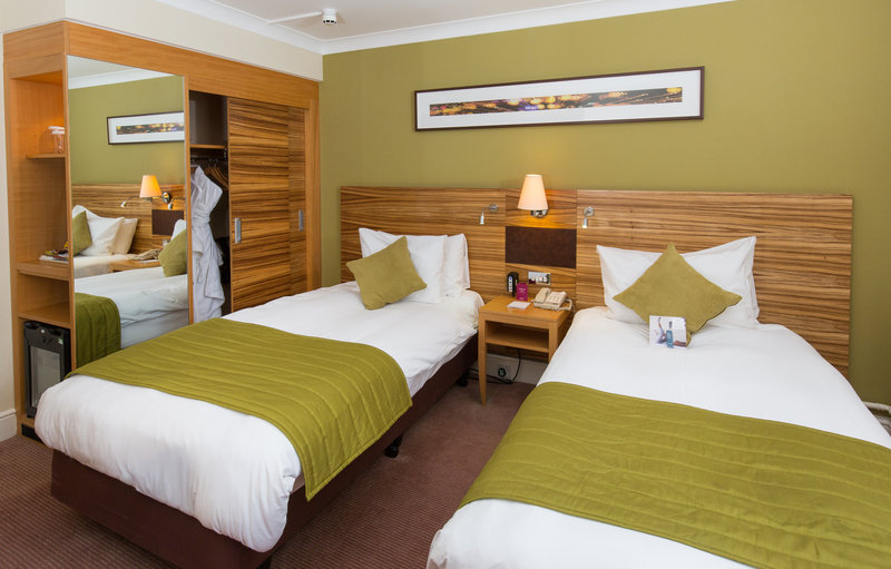 Crowne Plaza Chester-Twin Guest Room<br/>Image from Leonardo