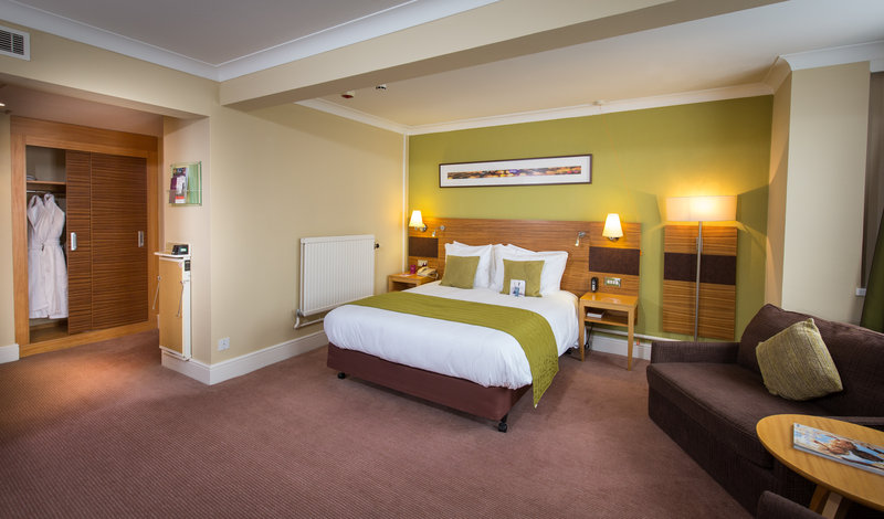 Crowne Plaza Chester-Accessible Double Guest Room - Wheelchair Accessible<br/>Image from Leonardo