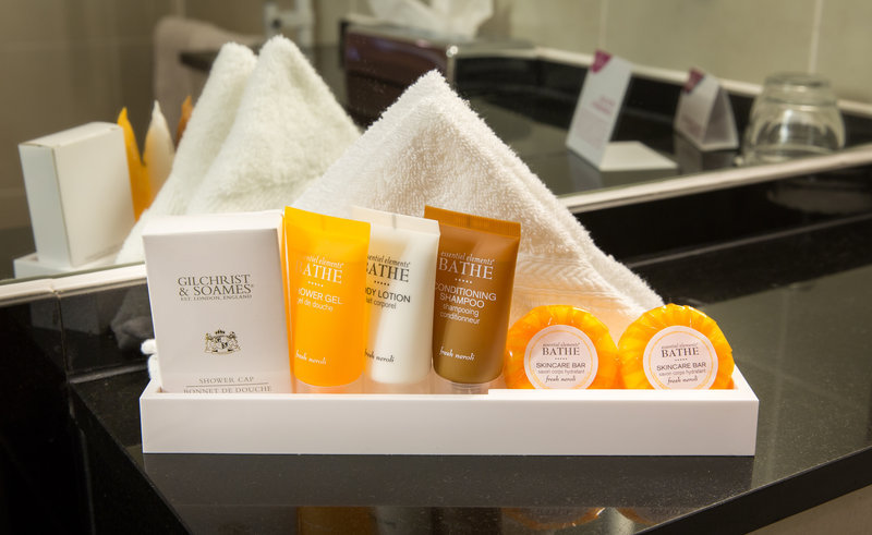 Crowne Plaza Chester-Guest Toiletries<br/>Image from Leonardo