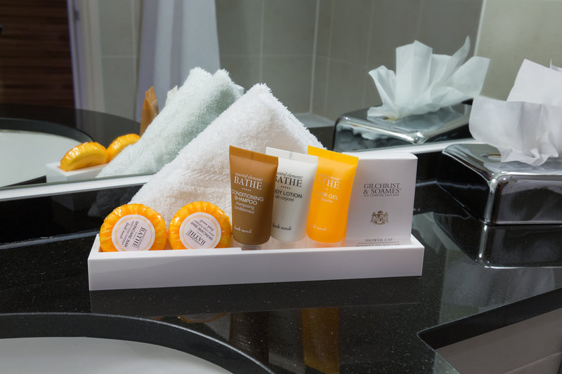 Crowne Plaza Chester-Guest Bathroom Toiletries<br/>Image from Leonardo