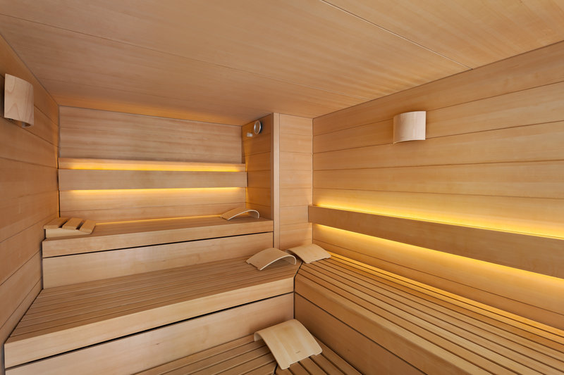 Holiday Inn Nuernberg City Centre-Sauna for relaxing in the Holiday Inn Nürnberg City Centre.<br/>Image from Leonardo
