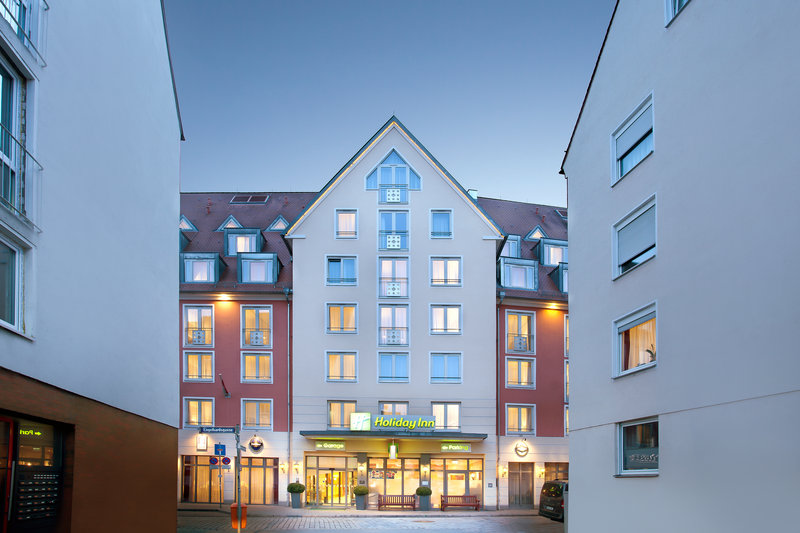 Holiday Inn Nuernberg City Centre-The Holiday Inn, in a quiet location in Nürnberg's city centre.<br/>Image from Leonardo