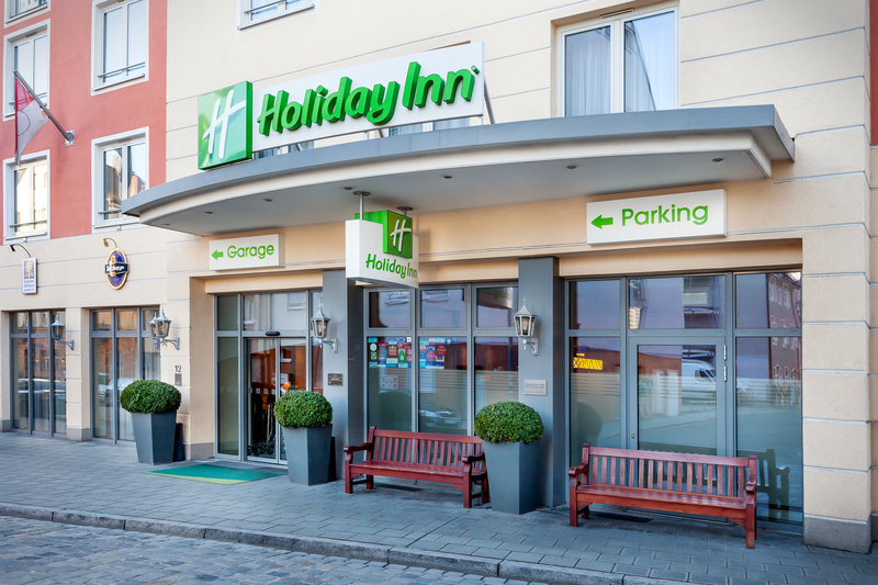 Holiday Inn Nuernberg City Centre-The centrally located hotel, offering useful basement parking.<br/>Image from Leonardo