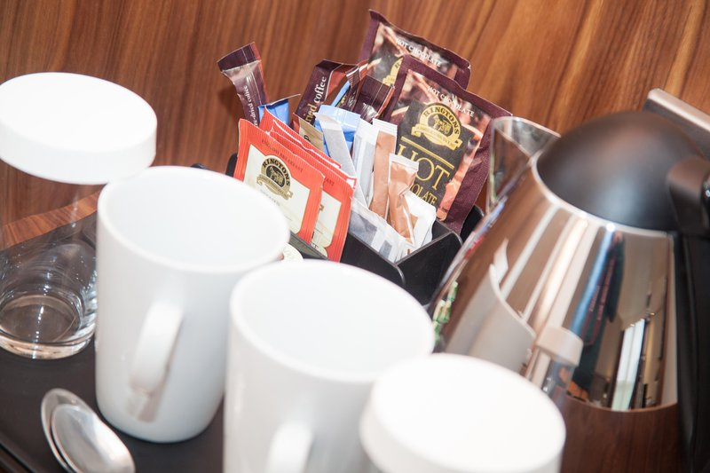 Holiday Inn Newcastle-Jesmond-Coffee and tea making facilities available in all of the bedrooms <br/>Image from Leonardo