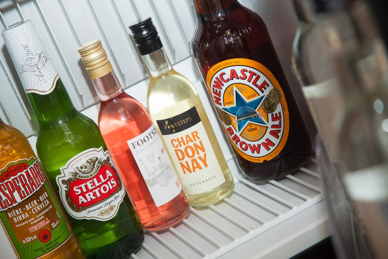 Holiday Inn Newcastle - Gosforth Park-Beverage selection in the executive rooms only<br/>Image from Leonardo