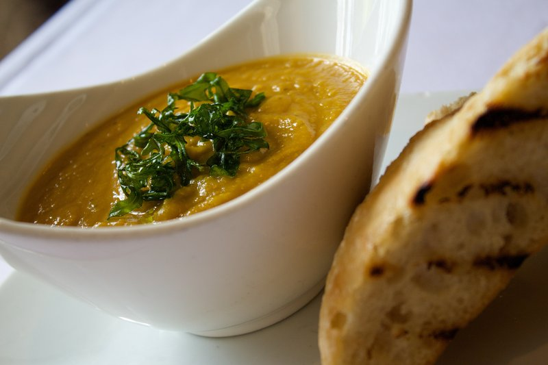 Holiday Inn Newcastle-Jesmond-Soup of the day<br/>Image from Leonardo