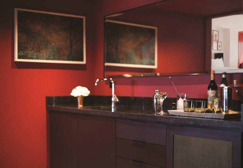 Park MGM Las Vegas - Nightingale Suite Wet Bar <br/>Image from Leonardo