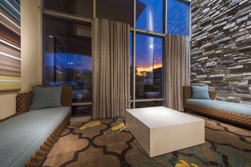 Holiday Inn Express & Suites Colorado Springs Central-Have a seat in our lobby lounge.  Free Internet<br/>Image from Leonardo