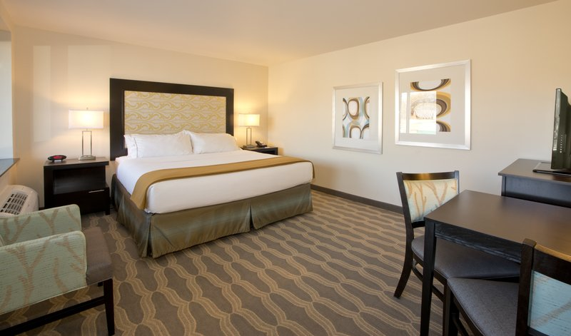 Holiday Inn Express & Suites Colorado Springs Central-Our King Rooms come equipped with a microwave and refrigerator<br/>Image from Leonardo