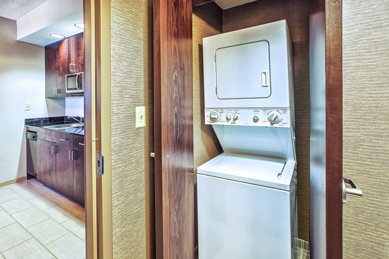 Holiday Inn Express & Suites Dayton South - I-675-In room suite washer and dryer for your extended stay. <br/>Image from Leonardo