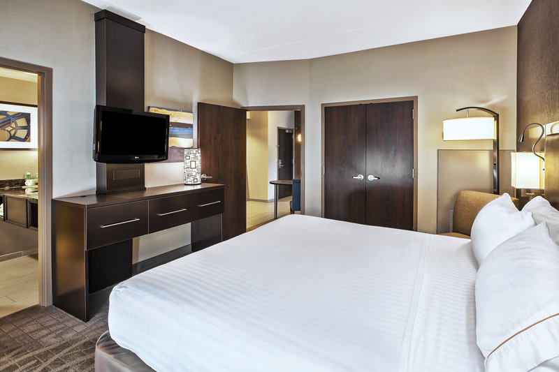Holiday Inn Express & Suites Dayton South - I-675-Executive Suite providing 2 televisions for all to enjoy. <br/>Image from Leonardo