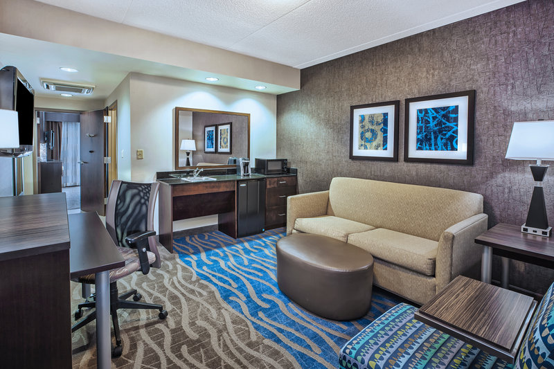 Holiday Inn Express & Suites Dayton South - I-675-Available ADA suites. <br/>Image from Leonardo