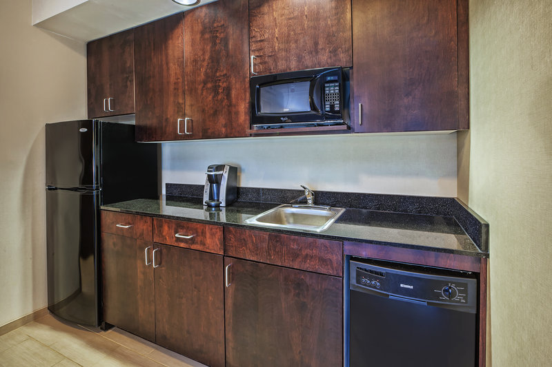 Holiday Inn Express & Suites Dayton South - I-675-Exec suite kitchenette for an extended day or weekend vacation.<br/>Image from Leonardo