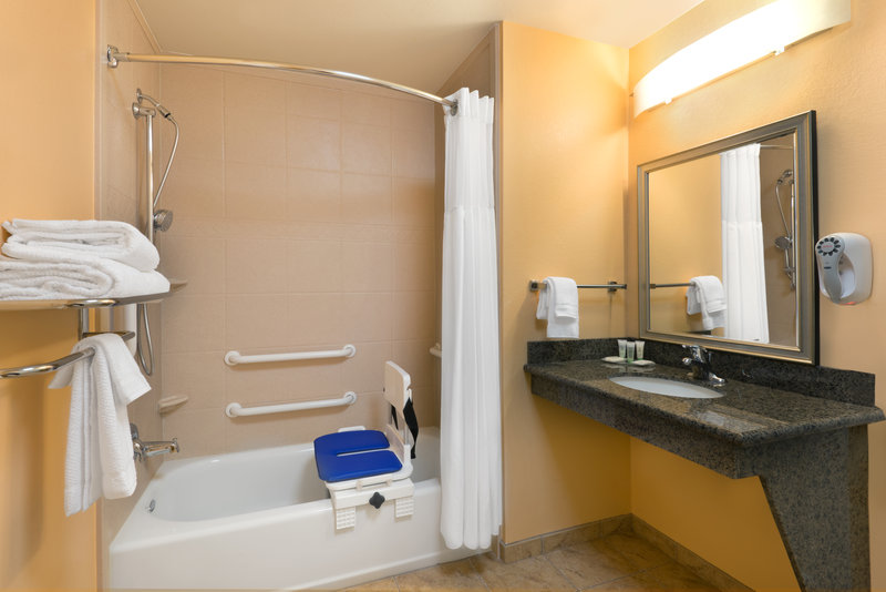 Staybridge Suites Tucson Airport-ADA/Handicapped Accessible Guest Bathroom with Transfer Tub<br/>Image from Leonardo