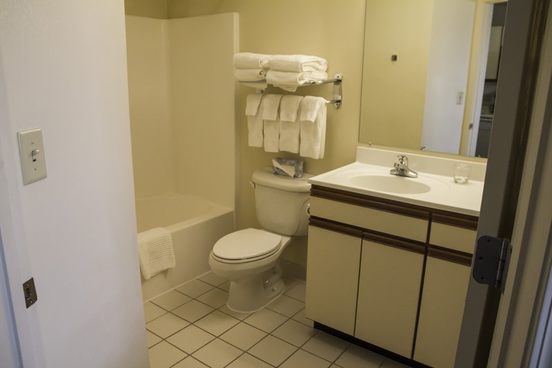 Candlewood Suites Syracuse-Airport-Studio Style Bathroom<br/>Image from Leonardo