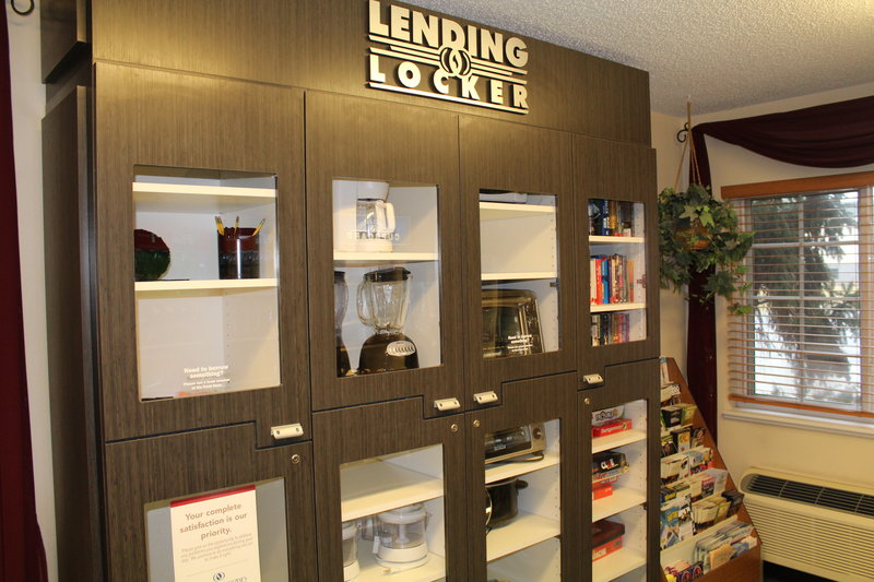Candlewood Suites Syracuse-Airport-Candlewood Lending Locker<br/>Image from Leonardo