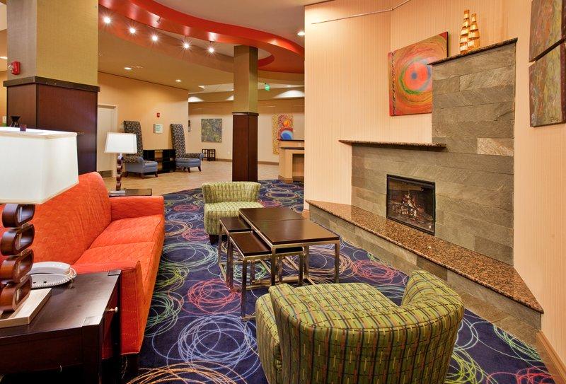 Holiday Inn Omaha Downtown-Airport-Hotel Lobby<br/>Image from Leonardo