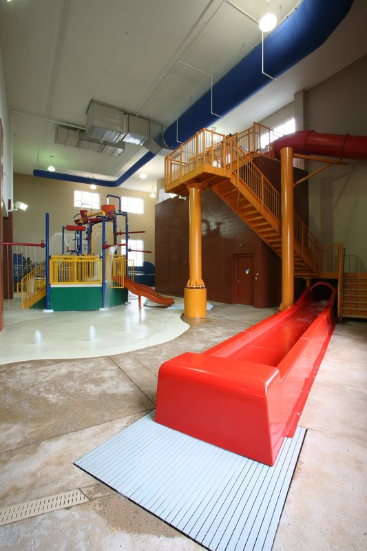 Holiday Inn Omaha Downtown-Airport-10,000 sq. ft Water Park with 3 story Water Slide<br/>Image from Leonardo