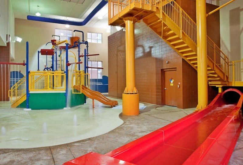Holiday Inn Omaha Downtown-Airport-10,000 sq. ft. Water Park with 3-Story Water Slide & Splash Zone<br/>Image from Leonardo