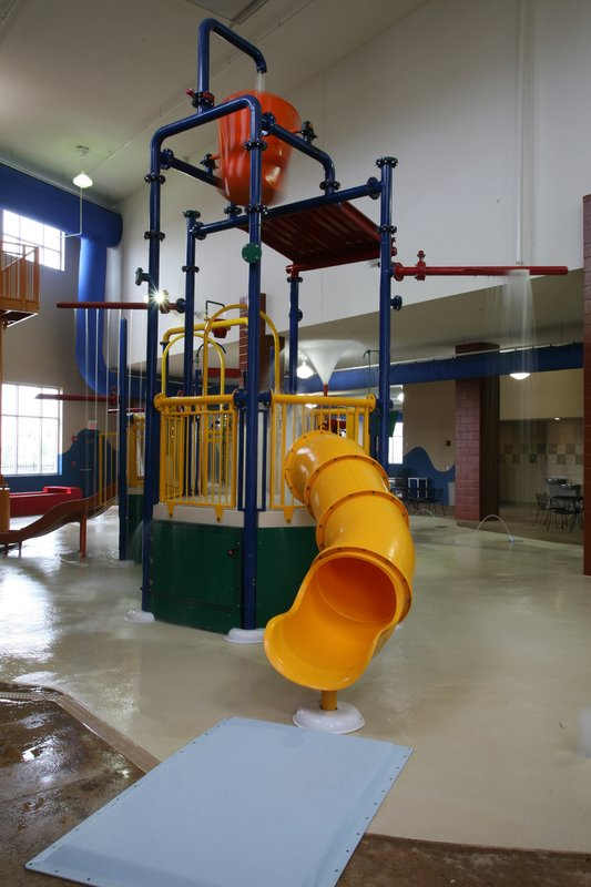 Holiday Inn Omaha Downtown-Airport-10,000 sq. ft Water Park with Water Jungle Gym<br/>Image from Leonardo