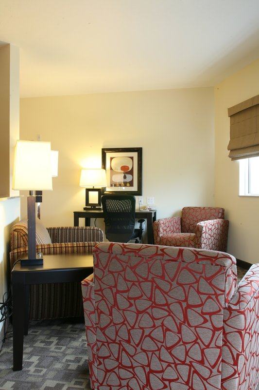 Holiday Inn Omaha Downtown-Airport-Luxury King Non-Smoking View Suite<br/>Image from Leonardo