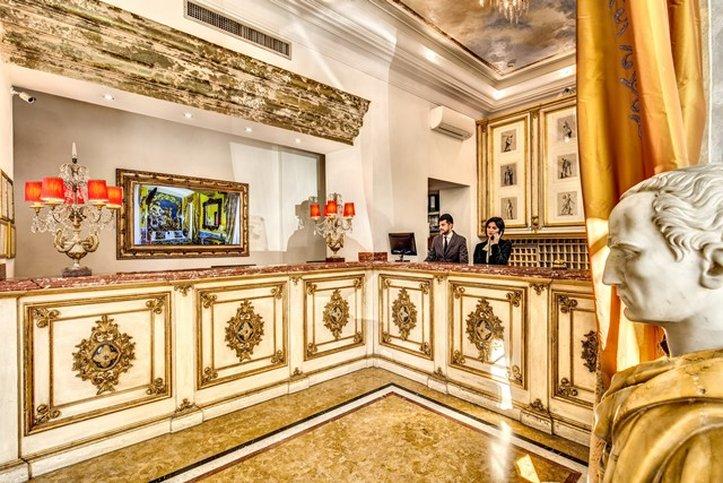 Romanico Palace Hotel - Lobby <br/>Image from Leonardo