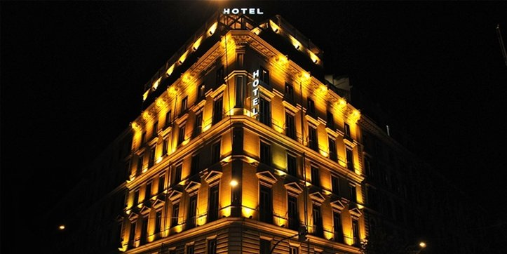 Romanico Palace Hotel - Exterior <br/>Image from Leonardo