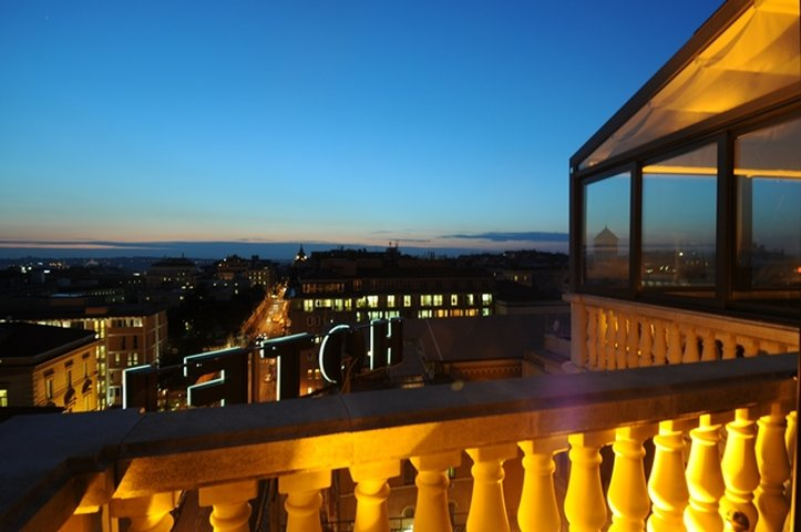 Romanico Palace Hotel - Terrace View <br/>Image from Leonardo