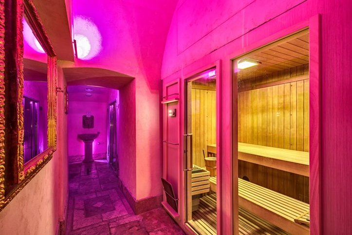 Romanico Palace Hotel - Wellness Sauna <br/>Image from Leonardo