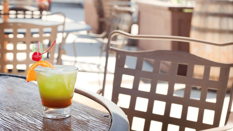 Holiday Inn Resort Deadwood Mountain Grand-June-Sept. enjoy our hand crafted cocktails on the Patron Patio!<br/>Image from Leonardo