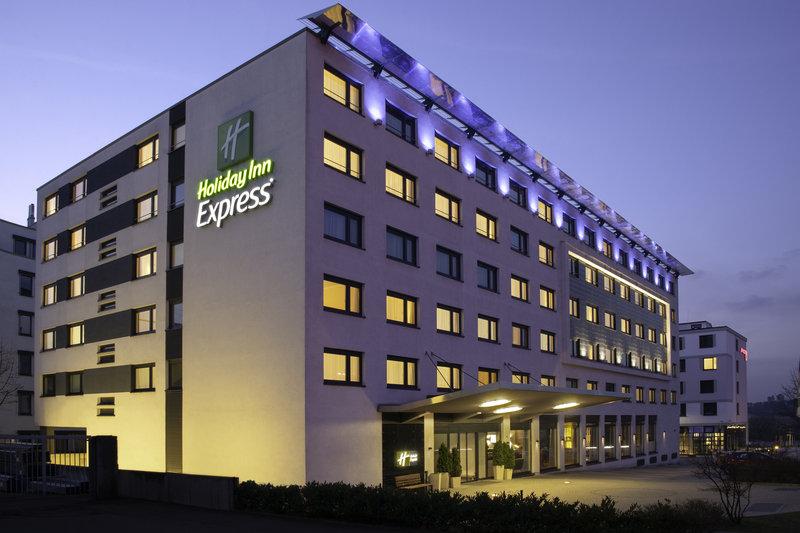 Holiday Inn Express Stuttgart Airport-The hotel, close to Stuttgart Airport and Stuttgart Fairground.<br/>Image from Leonardo