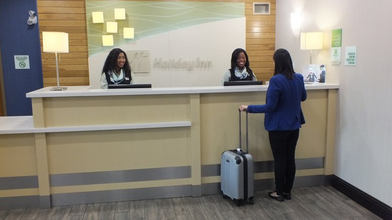 Holiday Inn Hotel & Suites Regina-A warm welcome from our friendly Guest Services Representatives<br/>Image from Leonardo
