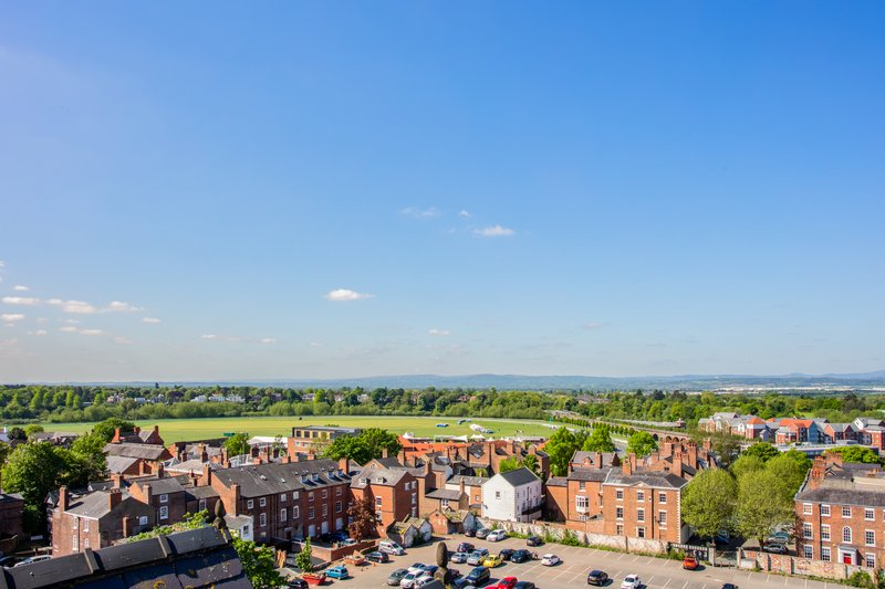 Crowne Plaza Chester-View from the Hotel<br/>Image from Leonardo