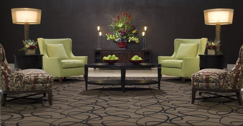 Crowne Plaza Indianapolis - Airport-Enjoy and relax in the hotel lobby with free Wi-Fi.<br/>Image from Leonardo