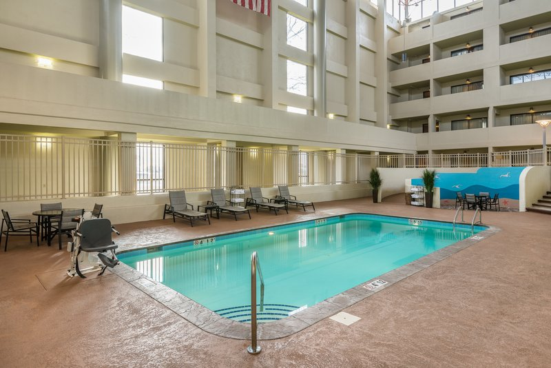 Crowne Plaza Indianapolis - Airport-Our swimming pool is a perfect retreat for health and wellness.<br/>Image from Leonardo