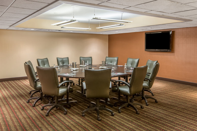 Crowne Plaza Indianapolis - Airport-Host your next business meeting at our well-equipped Boardroom.<br/>Image from Leonardo