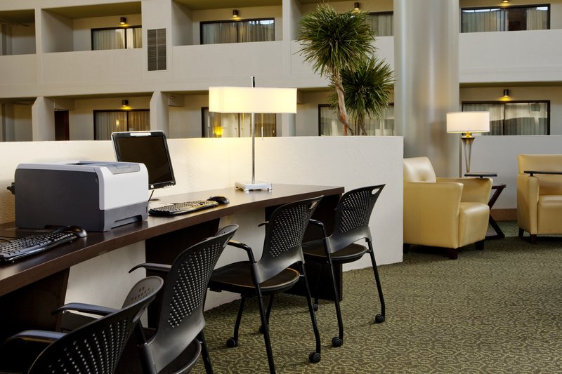 Crowne Plaza Indianapolis - Airport-Business services are available any time of the day.<br/>Image from Leonardo