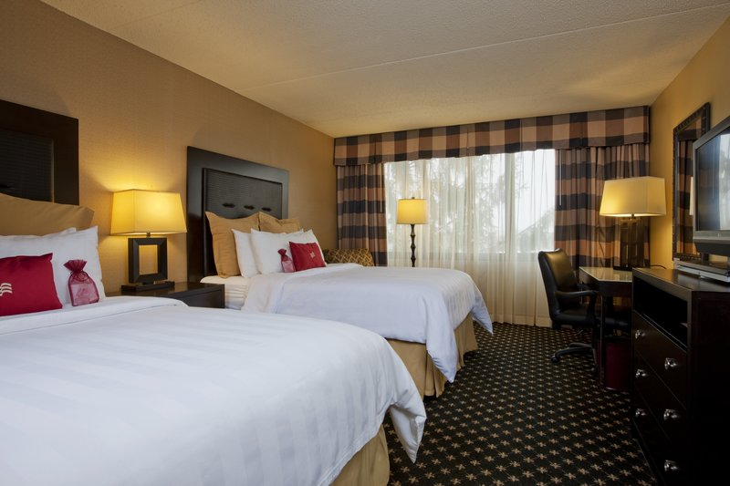 Crowne Plaza Indianapolis - Airport-2 Double Beds Guest Room<br/>Image from Leonardo