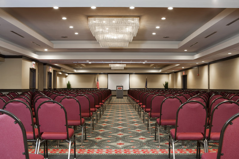 Crowne Plaza Indianapolis - Airport-Encapsulate your guests in Ballroom Theater style ambience.<br/>Image from Leonardo