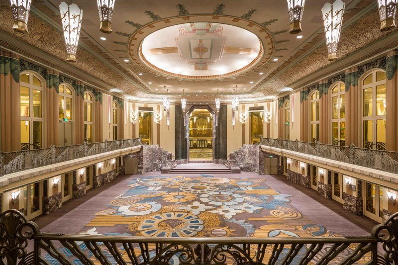 Hilton Cincinnati Netherland Plaza-Hall of Mirrors<br/>Image from Leonardo