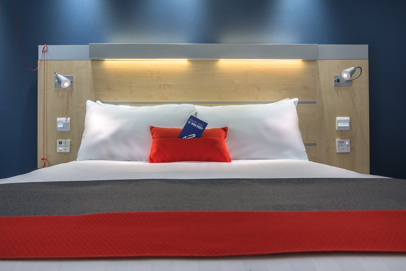 Holiday Inn Express Kettering-Our Comfy Double Bed<br/>Image from Leonardo