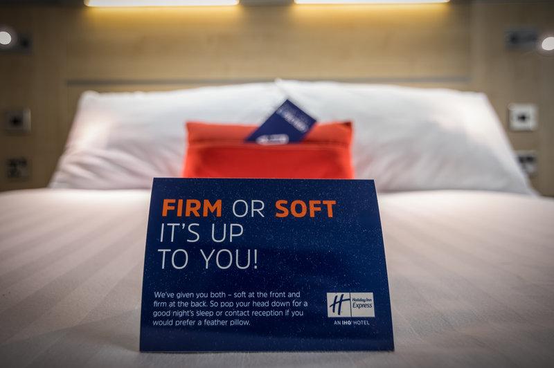 Holiday Inn Express Kettering-Pillow Menu<br/>Image from Leonardo