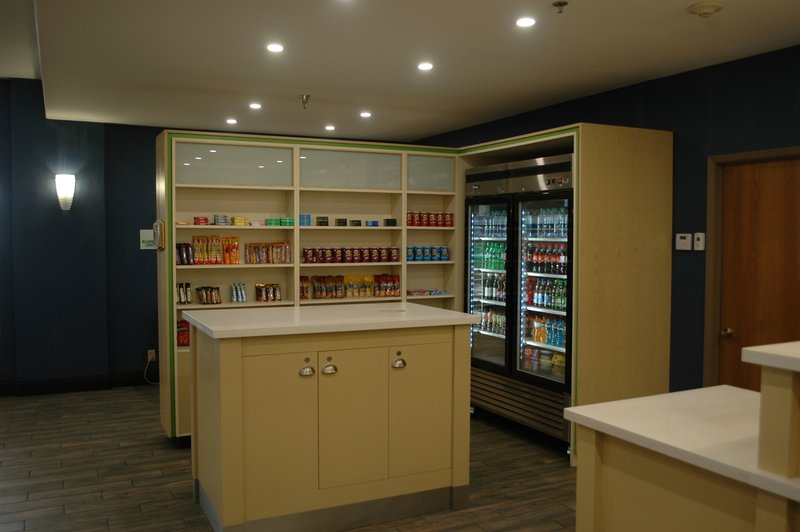 Holiday Inn Hotel & Suites Regina-Pantry shop in the lobby beside front desk<br/>Image from Leonardo