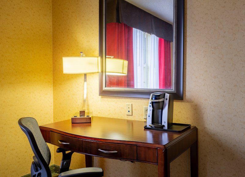 Holiday Inn Express & Suites Williamsburg-Each guest room offers a brightly lit desk and Keurig coffee maker<br/>Image from Leonardo