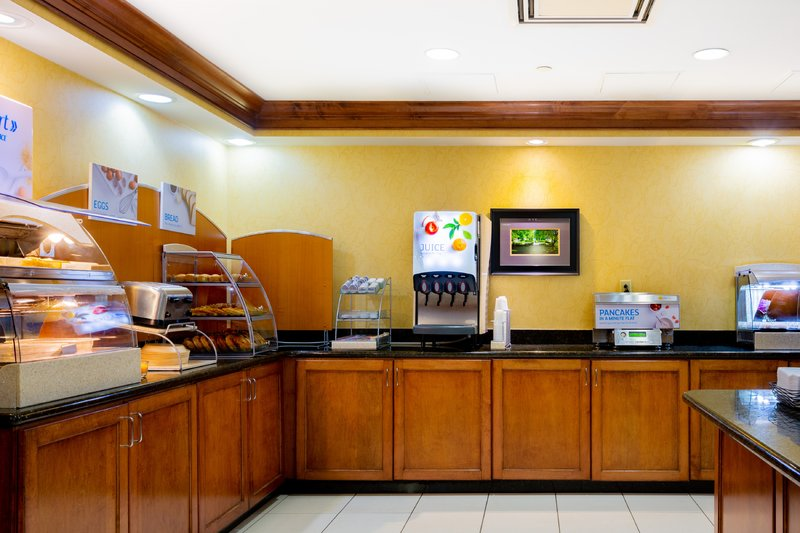 Holiday Inn Express & Suites Williamsburg-Indulge daily with our Complimentary Express Start Breakfast Bar<br/>Image from Leonardo