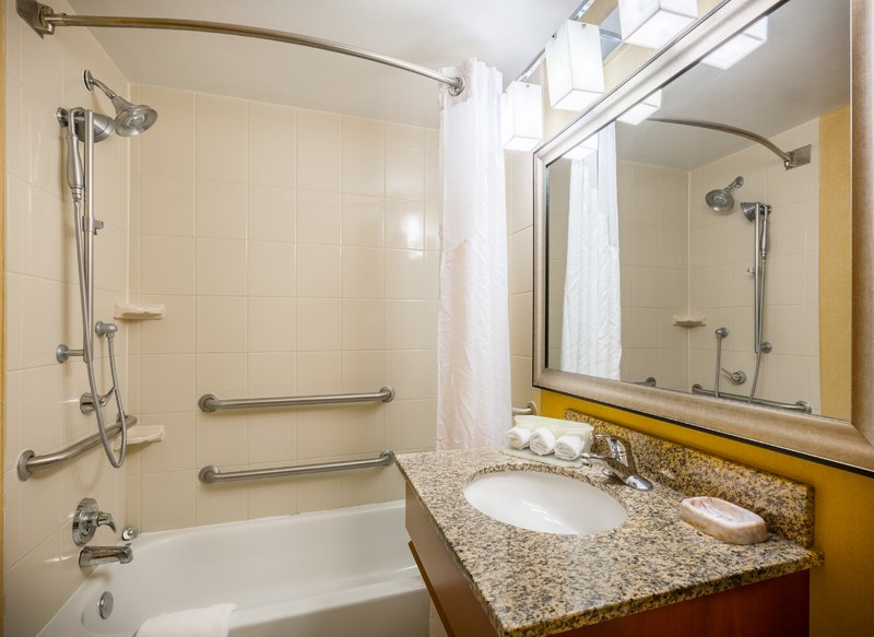 Holiday Inn Express & Suites Williamsburg-We offer ADA approved bathtubs for your comfort & convenience<br/>Image from Leonardo